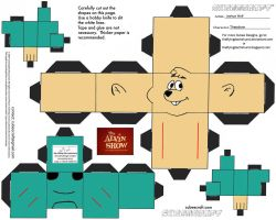Alvin Show: Theodore Cubee by TheFlyingDachshund
