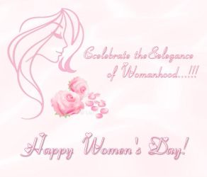Happy Women's Day! by LaxmiJayaraj