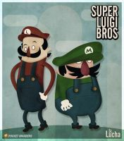 Super Luigi Bros by srlucha