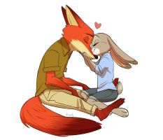 The Hybrid-Love Song by zootopiafanficlover