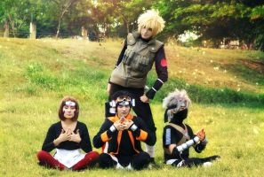 Naruto Shippuden - To train by JhonkunAGM