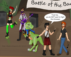 Battle of the Bands by ShadowDragonia