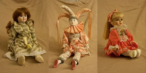 Old Dolls Stock Pack by Lizzie-Bitty