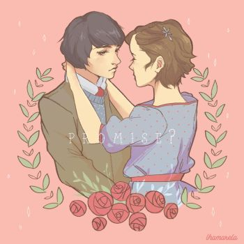 Mike and Eleven by lhamarela