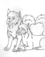 Wolfs by Rift-Mark