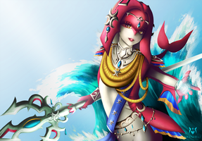 Mipha by Meeshell-Art