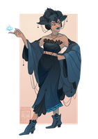 [closed] Adopt - Sorceress by fionadoesadopts
