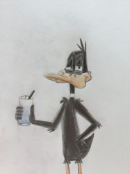 Daffy Vacation by CaptainEdwardTeague