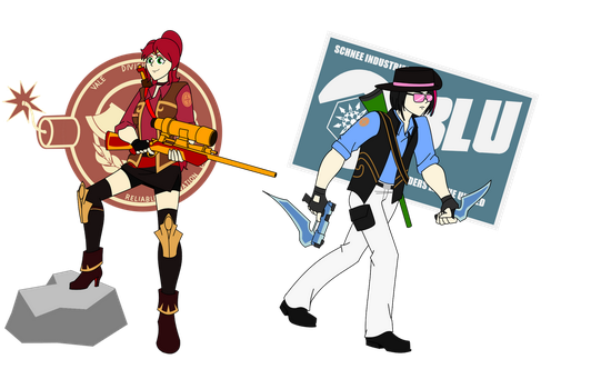 Team Fortress RW-BY:  Sniper Class by Soundwave3591