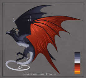 Exotic Wyvern by DelusionalPuffball