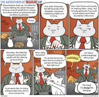 The Adventures of Regular Cat - Housemates by tomfonder