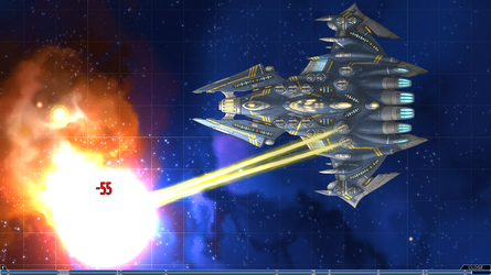 Stars in Shadow: In-game Super-Dreadnought by AriochIV