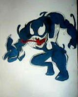 2012 drawing - venom by nielopena