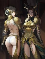 Kulve Taroth Armor Girls by phamoz