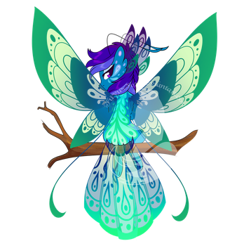 Grotto Adopt - Peacock by FuyusFox