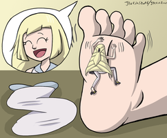 Lusamine's Big Baby (Part 3) by JFetishStuff