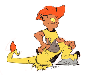 Scrafty! by TeaDino