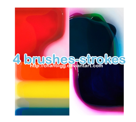Brushes 1 - Strokes by ChantiiGG