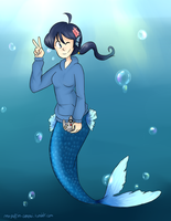 Commission (KazeSolarFlare) by The-magic-octopus