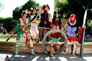 Soul Calibur 4 Girls by Giuly-Chan