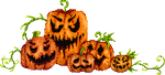 Oh so scary pumpkins by UszatyArbuz