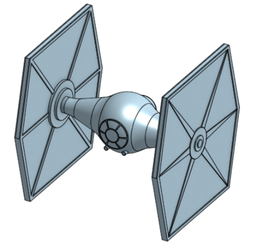 3D Printing Concept- TIE Fighter by Jason-Jamey
