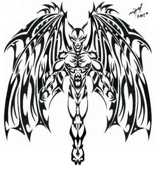 Devil Tattoo by Midnite7175