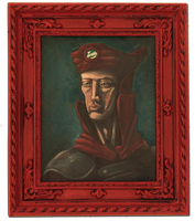 portrait of a brumian lord-trader by LaughtonMcCry