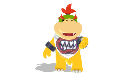 Bowser Jr by MMDModdler