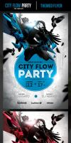 City Flow Party Flyer Template by odindesign