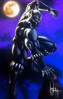 Black Panther by SirWolfgang