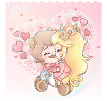 .~Cuddles~. by ThePinkMarioPrincess