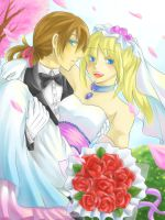 The Wedding Day by christon-clivef