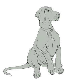 Great Dane Puppy by LainDragon