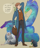 Fantastic Beasts by FudgeTheDog