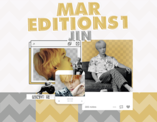/PACK PNG/ JIN | Epiphany. by MarEditions1