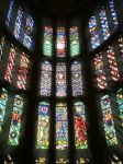 Stained Glass in King Henry VIII game room by bullispace