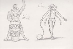 Figure 31 - M'Bunagi and Snakedance by TheHiddenElephant