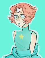 Pearl doodle by sinningpotato