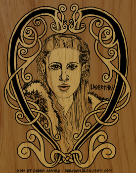 Lagertha by DebsDen