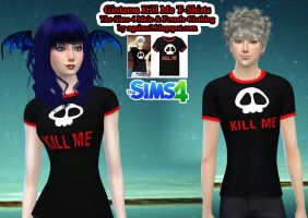 Gintama Kill Me T-Shirts - TS4 CC by ng9
