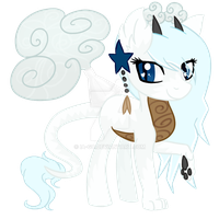 (OTA CLOSED) Bottle Butt Advent #7 : Frosted Choco by Harpy-Queen