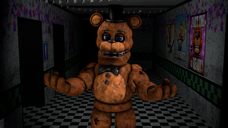 (SFM/FNaF) That Withered Freddy by TheDoubleAxe