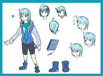 [Reference sheet] Persona by Azureanothertale