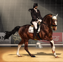 ~AUSE Qualifier One - Dressage~ by CalyArt