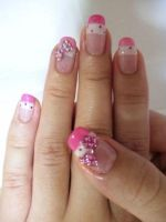 bow nail art III by Madhurupa