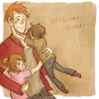 Welcome Home. by pokings