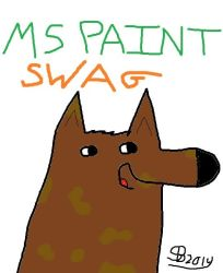 MS Paint Swag by Yoshifan95