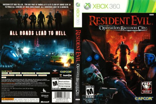 Resident Evil Operation Racoon City (Xbox 360) by dakotaatokad