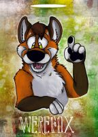 Werefox badge -commission by Grion